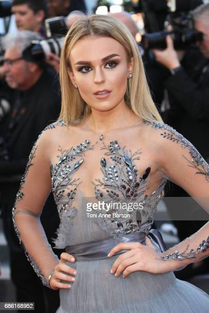 Tallia Storm attends the '120 Battements Par Minutes ' screening during the 70th annual Cannes Film Festival at Palais des Festivals on May 20 2017...