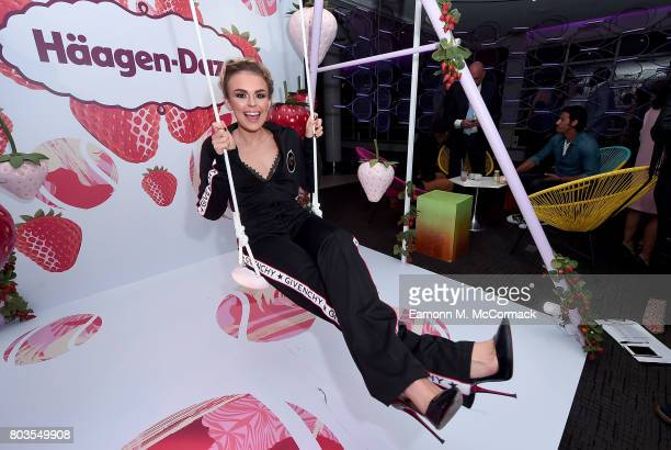 Tallia Storm attends the annual WTA PreWimbledon Party at The Roof Gardens Kensington on June 29 2017 in London United Kingdom