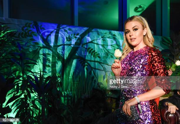 Tallia Storm attends The BRIT Awards 2018 afterparty hosted by Tempus magazine at The Intercontinental Hotel The O2 on February 21 2018 in London...