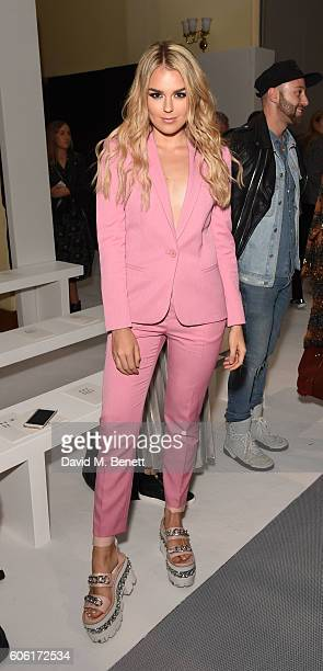 Tallia Storm attends the DAKS runway show during London Fashion Week Spring/Summer collections 2017 on September 16 2016 in London United Kingdom