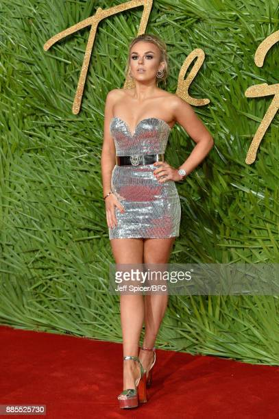 Tallia Storm attends The Fashion Awards 2017 in partnership with Swarovski at Royal Albert Hall on December 4 2017 in London England