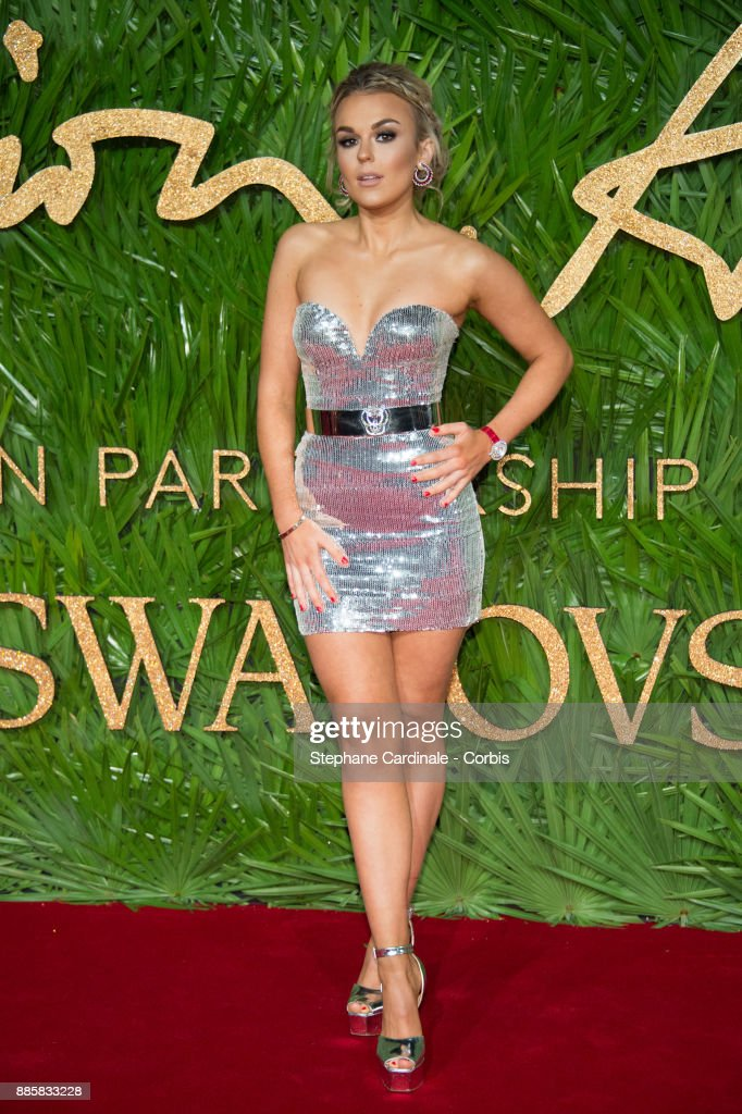 Tallia Storm attends the Fashion Awards 2017 In Partnership With Swarovski at Royal Albert Hall on December 4, 2017 in London, England.