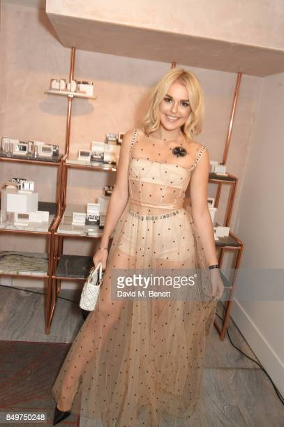 Tallia Storm attends the Fenty Beauty x Harvey Nichols Launch at Harvey Nichols on September 19 2017 in London England
