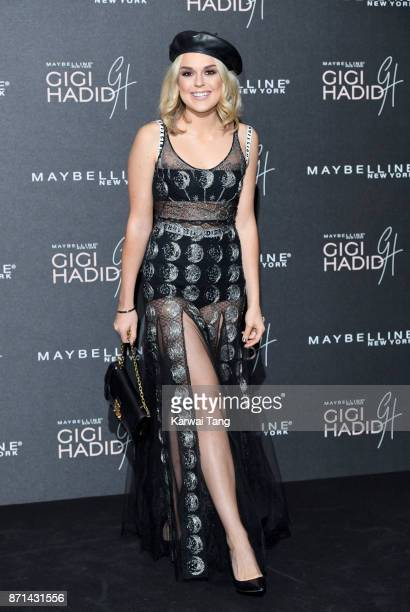 Tallia Storm attends the Gigi Hadid X Maybelline party held at 'Hotel Gigi' on November 7 2017 in London England