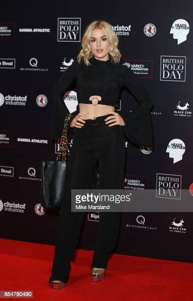 Tallia Storm attends the Heads Together charity auction at Saatchi Gallery on September 27 2017 in London England