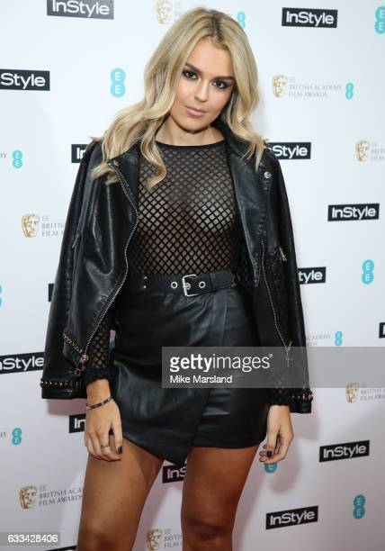 Tallia Storm attends the InStyle EE Rising Star Party at the Ivy Soho Brasserie on February 1 2017 in London England