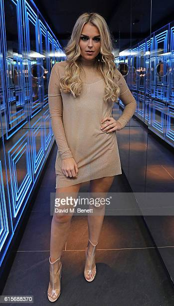 Tallia Storm attends the launch of MNKY HSE latenight restaurant Mayfair on October 19 2016 in London England