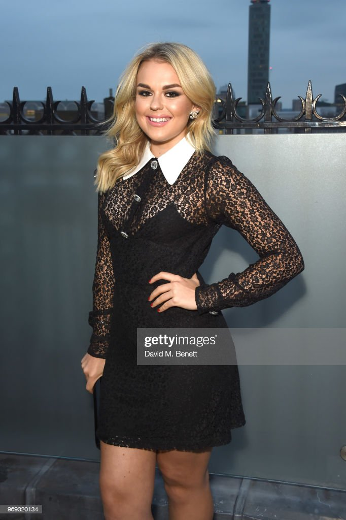 Tallia Storm attends the launch of Mytheresa.com's magazine 'The Album' at The London EDITION on June 7, 2018 in London, England.