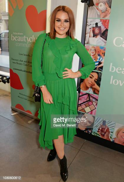 Tallia Storm attends the launch of the Debenham's Beauty Club Community at Smashbox Studios on September 10 2018 in London England