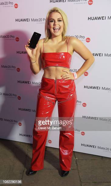 Tallia Storm attends the launch of the Huawei Mate 20 Pro at One Marylebone on October 16 2018 in London England