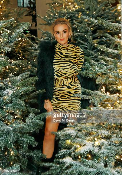 Tallia Storm attends the launch of The Nordic Winter Garden at Aquavit by McQueens on November 13 2017 in London England