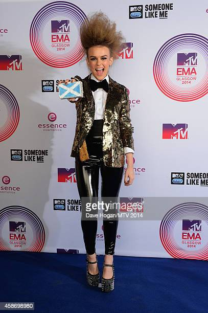 Tallia Storm attends the MTV EMA's 2014 at The Hydro on November 9 2014 in Glasgow Scotland