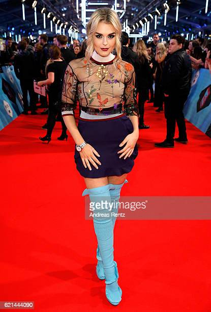 Tallia Storm attends the MTV Europe Music Awards 2016 on November 6 2016 in Rotterdam Netherlands