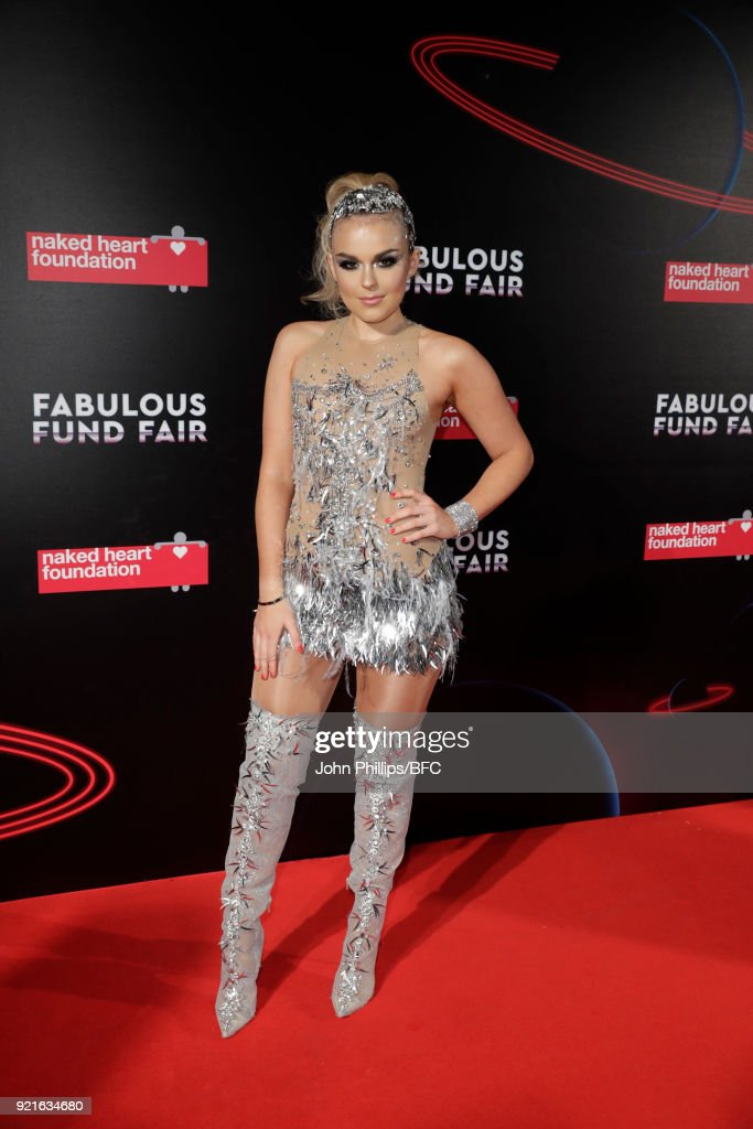 Tallia Storm attends the Naked Heart Foundation's Fabulous Fund Fair during London Fashion Week February 2018 at The Roundhouse on February 20, 2018 in London, England.