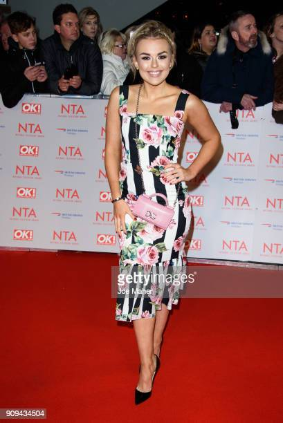 Tallia Storm attends the National Television Awards 2018 at The O2 Arena on January 23 2018 in London England