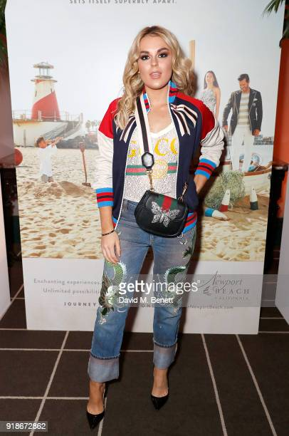 Tallia Storm attends the Newport Beach Film Festival UK Honours in association with Visit Newport Beach at The Rosewood Hotel on February 15 2018 in...