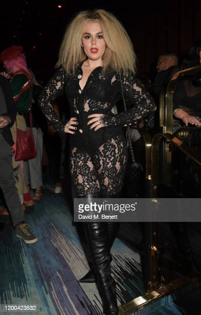 Tallia Storm attends the NME Awards after party in association with Copper Dog at The Standard on February 12 2020 in London England
