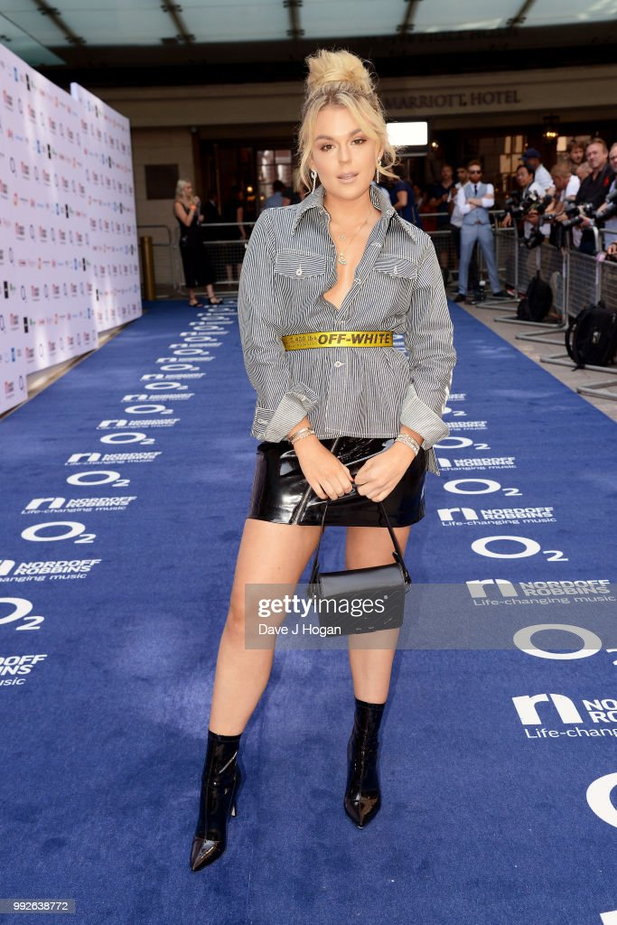 Tallia Storm attends the Nordoff Robbins' O2 Silver Clef Awards at Grosvenor House, on July 6, 2018 in London, England.