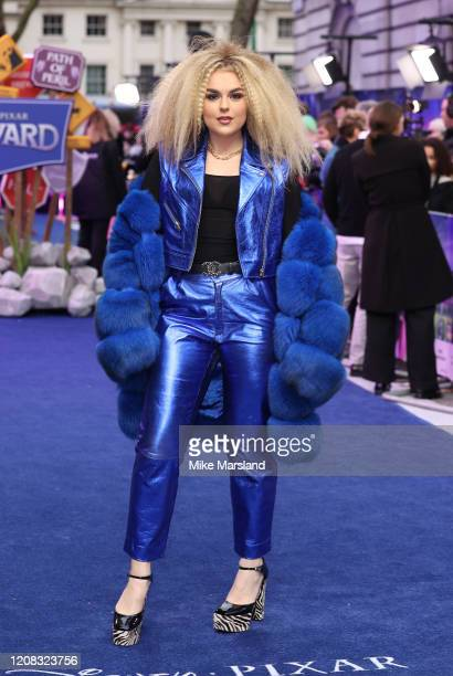 "Tallia Storm attends the ""Onward"" UK Premiere at The Curzon Mayfair on February 23, 2020 in London, England."
