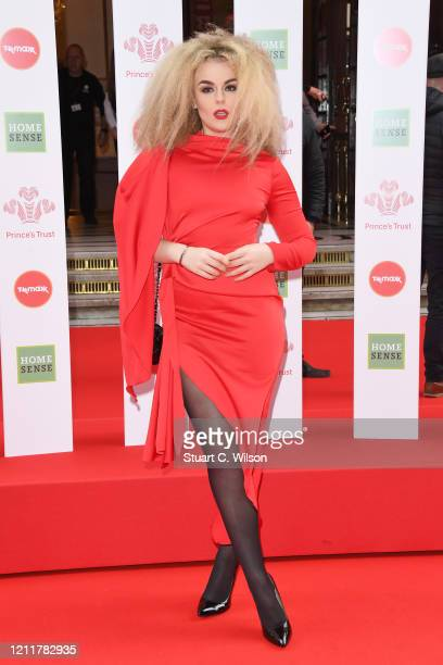 Tallia Storm attends the Prince's Trust And TK Maxx & Homesense Awards at London Palladium on March 11, 2020 in London, England.