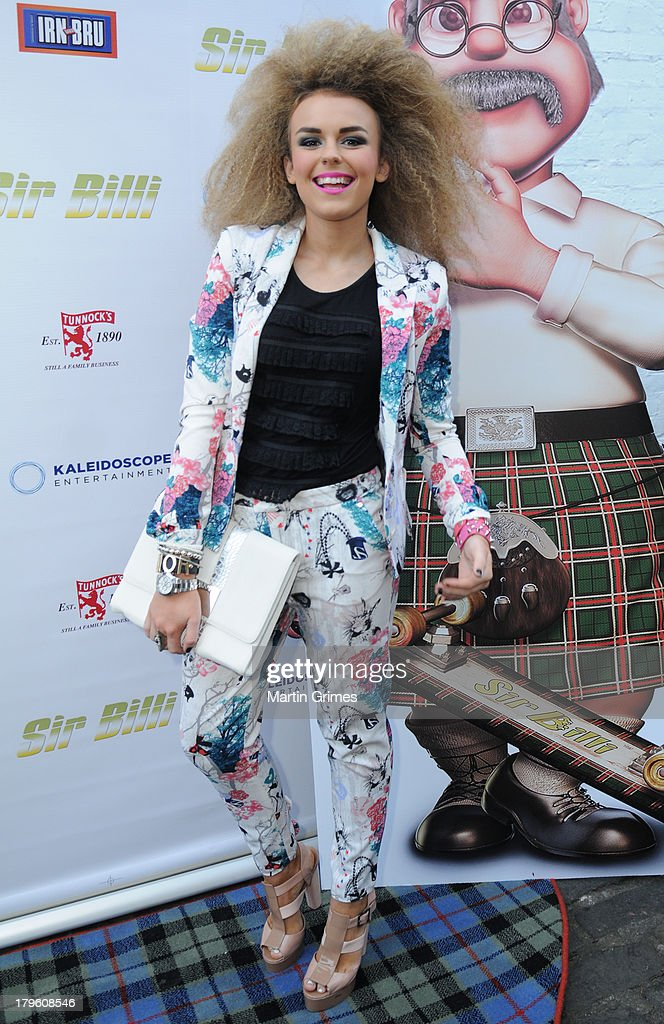 Tallia Storm attends the 'Sir Billi' press screening at The Grosvenor Cinema on September 5, 2013 in Glasgow, Scotland.