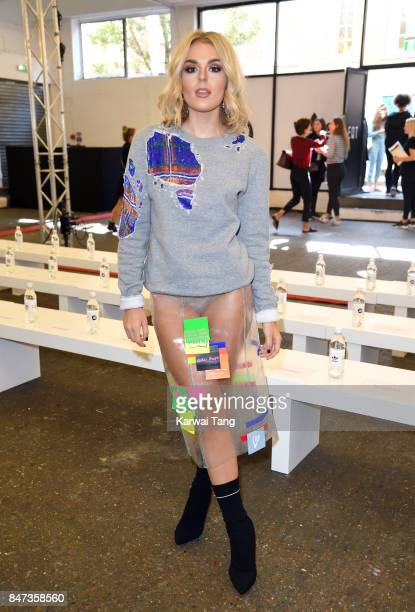 Tallia Storm attends the Streets of EQT Fashion Show at The Old Truman Brewery on September 15 2017 in London England Hailey Baldwin partners with...