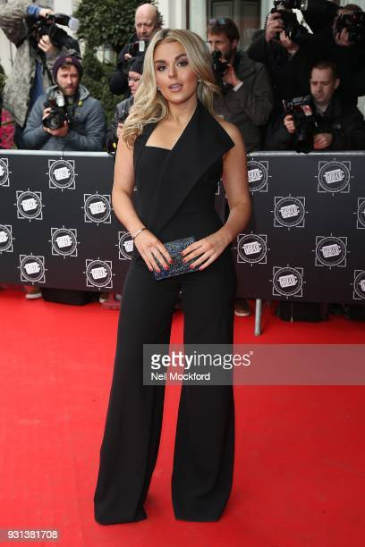 Tallia Storm attends the TRIC Awards 2018 held at The Grosvenor House Hotel on March 13 2018 in London England