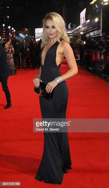 Tallia Storm attends the UK Premiere of Fifty Shades Darker at Odeon Leicester Square on February 9 2017 in London United Kingdom