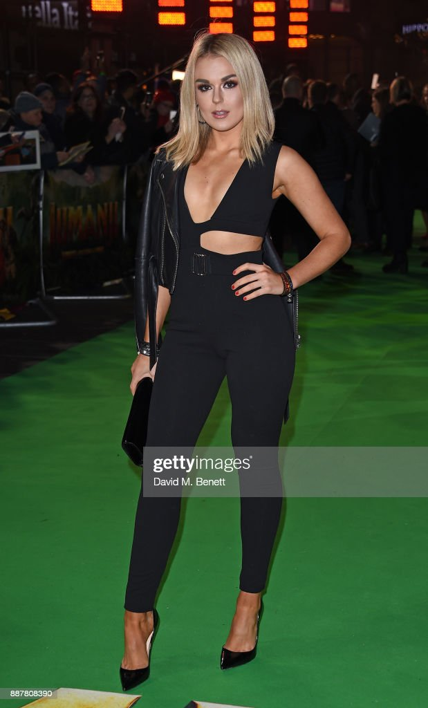 Tallia Storm attends the UK Premiere of 'Jumanji: Welcome To The Jungle' at Vue West End on December 7, 2017 in London, England.