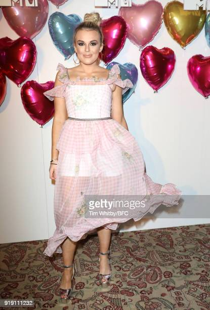 Tallia Storm attends the Wonderland Magazine x MTV Party during London Fashion Week February 2018 at The Ned Hotel on February 16 2018 in London...