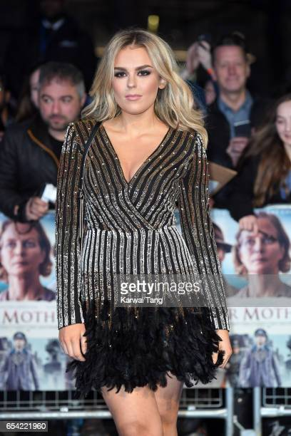 Tallia Storm attends the World Premiere of 'Another Mother's Son' at the Odeon Leicester Square on March 16 2017 in London England