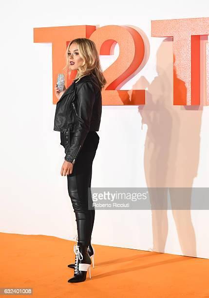 Tallia Storm attends the World Premiere of T2 Trainspotting at Cineworld on January 22, 2017 in Edinburgh, United Kingdom.