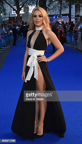 Tallia Storm attends the World Premiere of 'The Beatles Eight Days A Week The Touring Years' at Odeon Leicester Square on September 15 2016 in London...