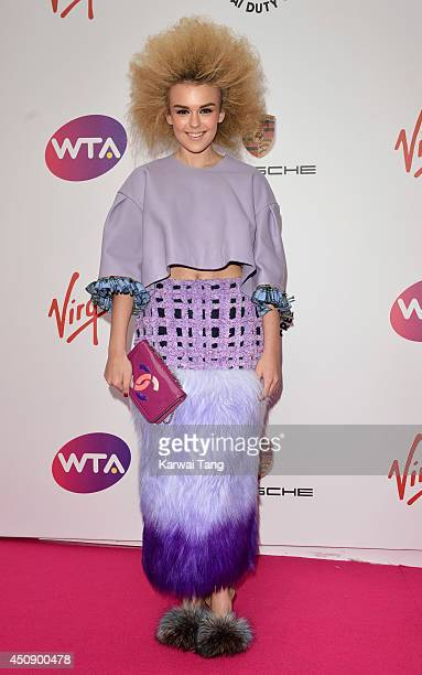 Tallia Storm attends the WTA PreWimbledon party at Kensington Roof Gardens on June 19 2014 in London England
