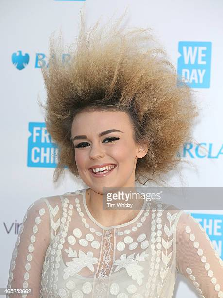 Tallia Storm attends We Day UK at Wembley Arena on March 5 2015 in London England