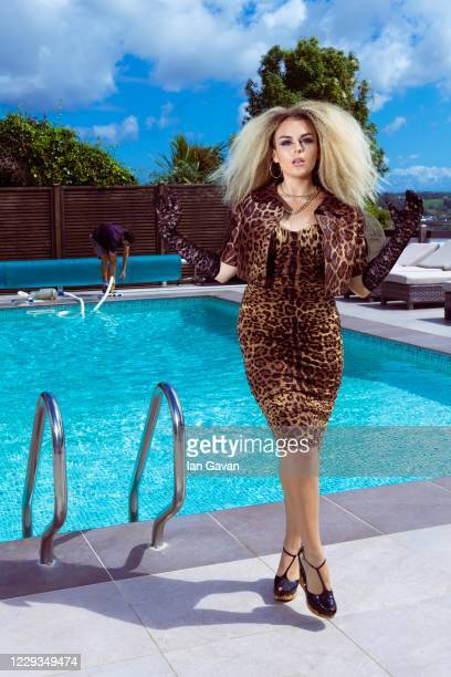 Tallia Storm poses on July 28, 2020 in St Helier, England.