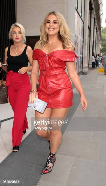 Tallia Storm seen attending Kurt Geiger boutique opening party at Selfridges on May 31 2018 in London England