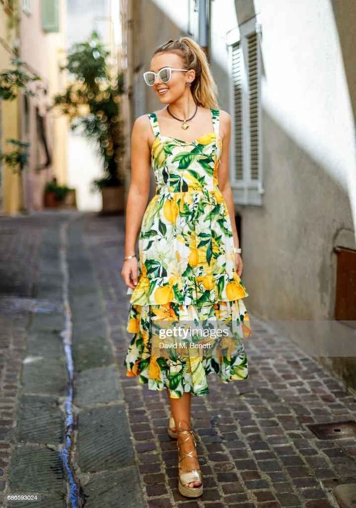 Tallia Storm Street Style - 70th International Cannes Film Festival