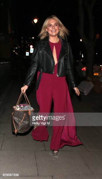 Tallie Storm seen attending The Bardou Foundation: International Women's Day Gala at The Hospital Club on March 8, 2018 in London, England.