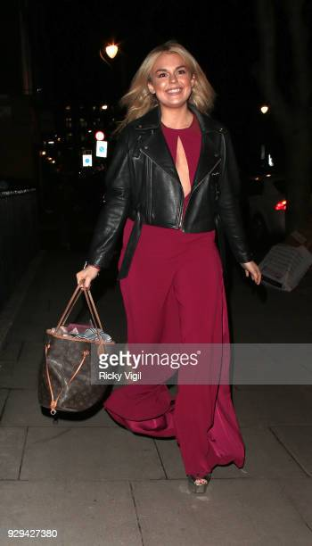 Tallie Storm seen attending The Bardou Foundation International Women's Day Gala at The Hospital Club on March 8 2018 in London England