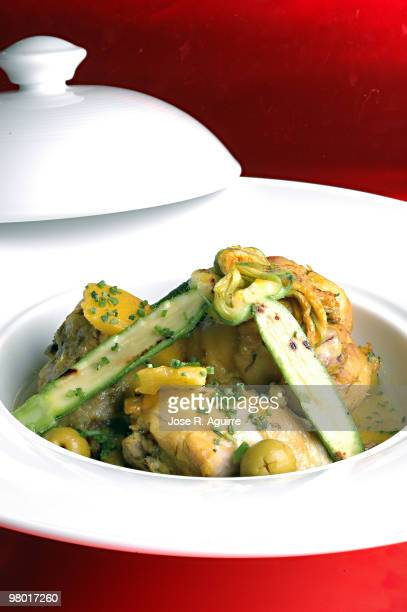 Tallin or Tajine a meal typical of Morocco