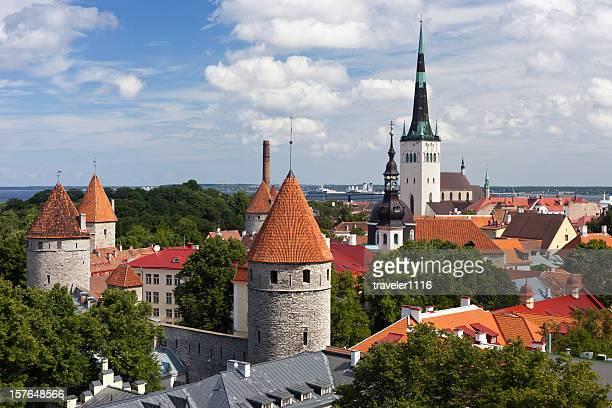 tallinn, estonia - tallinn stock pictures, royalty-free photos & images