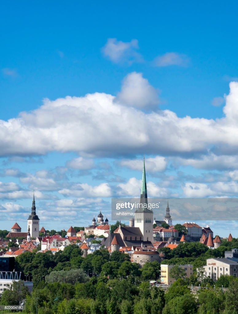 Tallinn old town, Estonia : Stock Photo