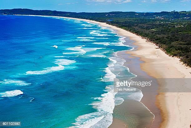 Tallow Beach at Cape Byron, Byron Bay, Australia, Oceania