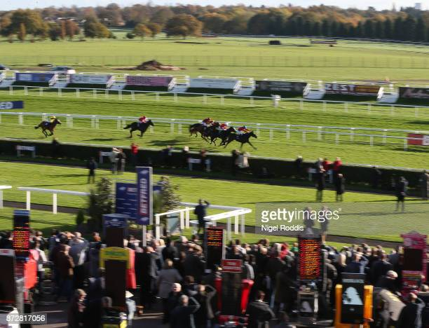 Tallow ridden by Jim Crowley wins The Betfred Mobile Cock O'The North Ebf Maiden Stakes at Doncaster Racecourse on November 11 2017 in Doncaster...
