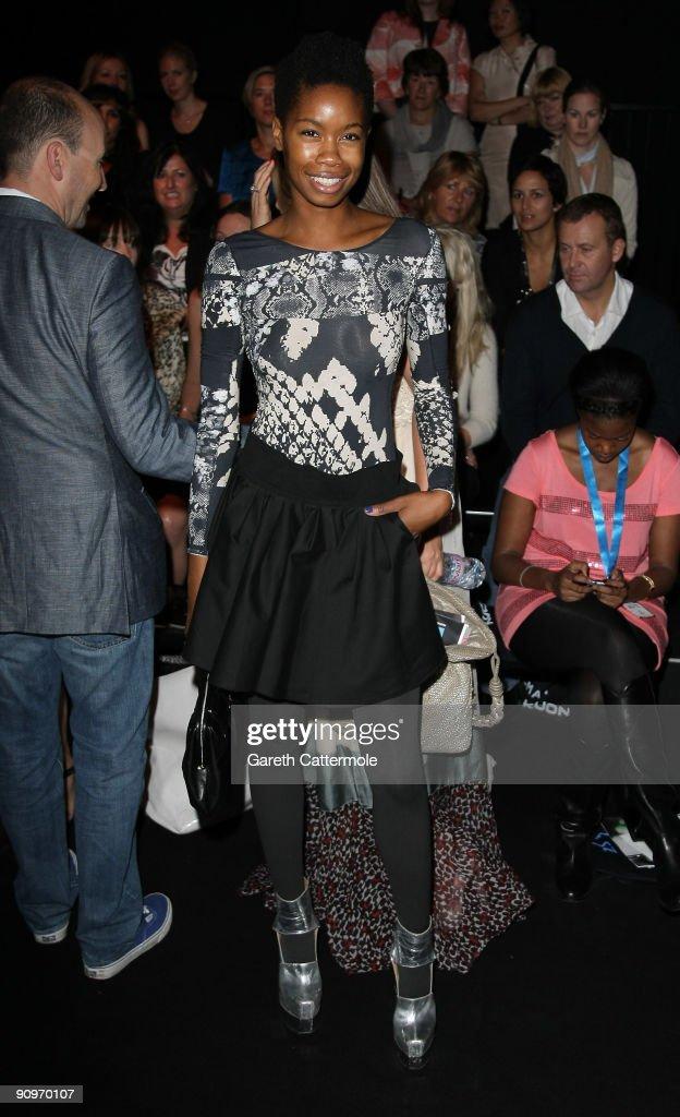 Osman Front Row: Spring/Summer 2010 - London Fashion Week