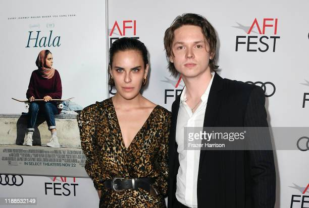 Tallulah Belle Willis and Jack Kilmer attend the screening of Hala during AFI FEST 2019 presented by Audi at TCL Chinese 6 Theatres on November 18...