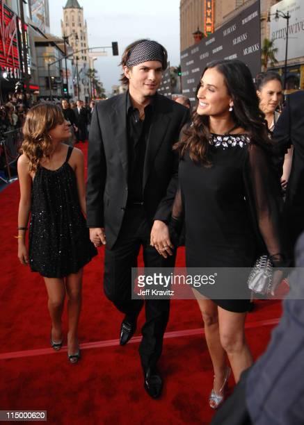 Tallulah Belle Willis Ashton Kutcher and Demi Moore