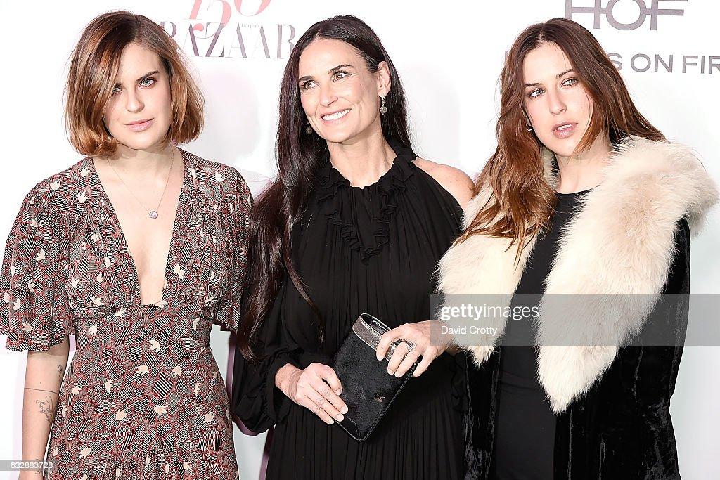 Harper's Bazaar Celebrates 150 Most Fashionable Women - Arrivals : News Photo