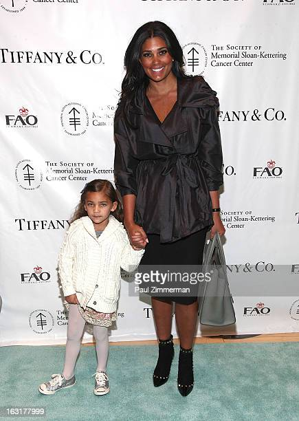Tallulah Dash and Rachel Roy attend the 22nd Annual Society Of Memorial SloanKettering Cancer Center Bunny Hop at FAO Schwarz on March 5 2013 in New...